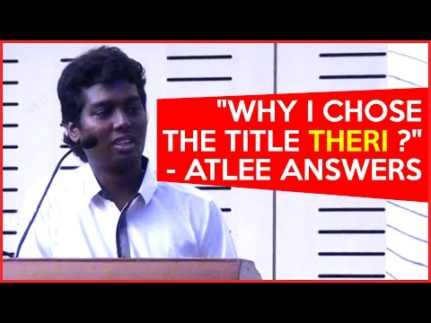 Why-I-chose-the-title-THERI--Atlee-Answers