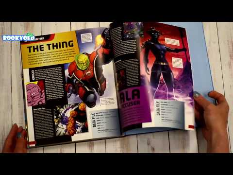 Видео обзор Marvel Guardians of the Galaxy: The Ultimate Guide to the Cosmic Outlaws