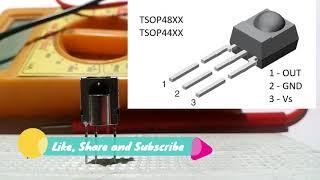 What is IR Receiver or TSOP   Application   Block Diagram   IR Receiver Testing