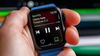 Spotify Adds Offline music downloads on Apple Watch