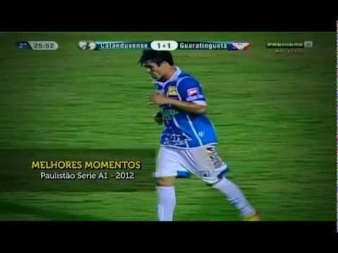 Nenê Bonilha do Corinthians faz boa temporada no Catanduvense, emprestado