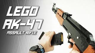 Video LEGO AK-47 Assault Rifle