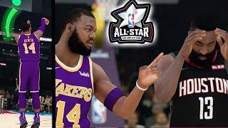 INSANE ALL STAR 3PT CONTEST! Down to Last Shot! Using Deadliest Jumpshot! NBA 2k19 MyCAREER Ep. 26