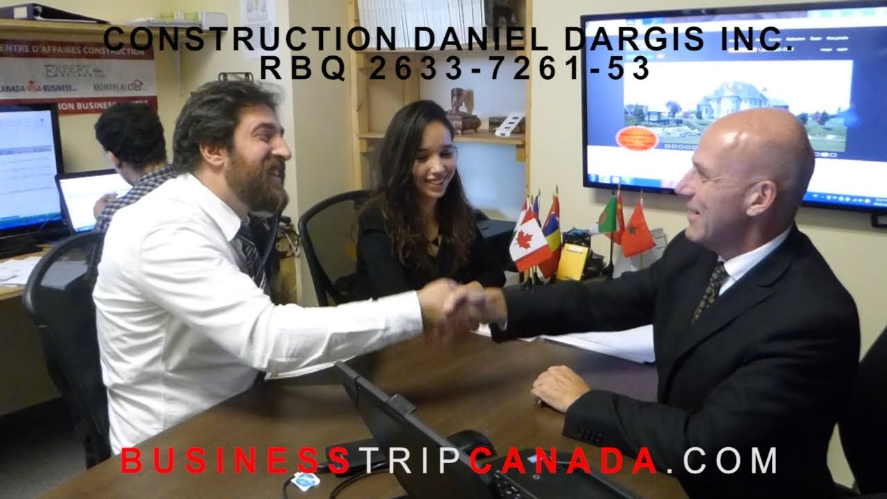 experience business trip canada