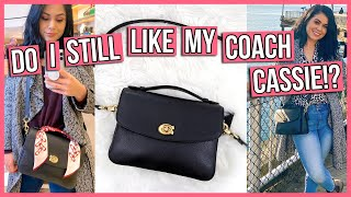 Coach Cassie Crossbody Whats In My Bag & 1 Month Review