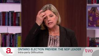 Ontario Election Preview: The NDP Leader