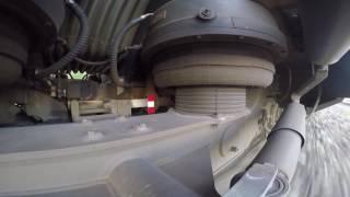 GoPro - Тележка Якобса Штадлерского дизель-поезда / Jacobs bogie of Stadle DMU