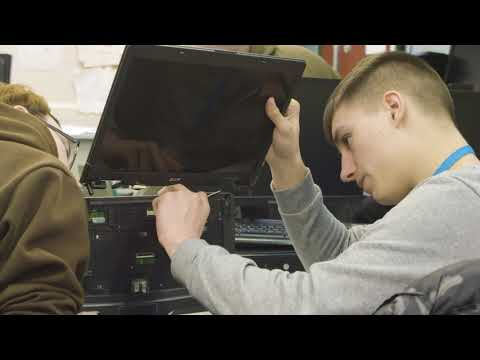 Computer Maintenance College Courses - NWSLC - YouTube