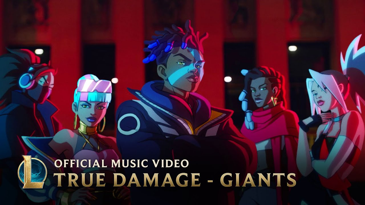 True Damage ft. Becky G, Keke Palmer, Soyeon, Duckwrth, Thutmose — Giants