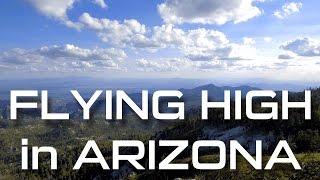 MT. LEMMON IN TUCSON, ARIZONA - HIGH ALTITUDE DRONE FLIGHT IN 4K