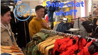 ASKING GIRLS FOR THEIR SNAPCHAT!!!