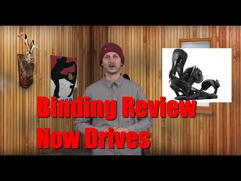 The 2019 Now Drive Snowboard Binding Review