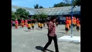 preview picture of video 'tari tau barania massal @smanest'