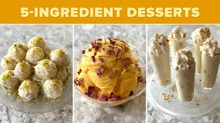 This Chef Makes 3 Indian Desserts Using Only 5 Ingredients Each • Tasty