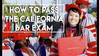 How to Pass the Bar Exam on the First Try