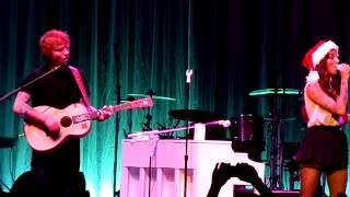Be My Forever - Ed Sheeran and Christina Perri Alice in Winterland Live