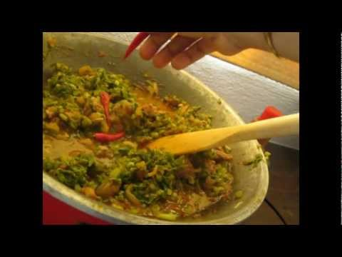 Spinach stew with beef – African Food Recipes