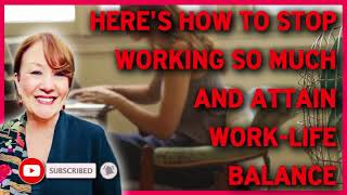 NEW ABRAHAM HICKS  ~ Here's how to stop working so much and attain work-life  balance. 🏢💪😀😁
