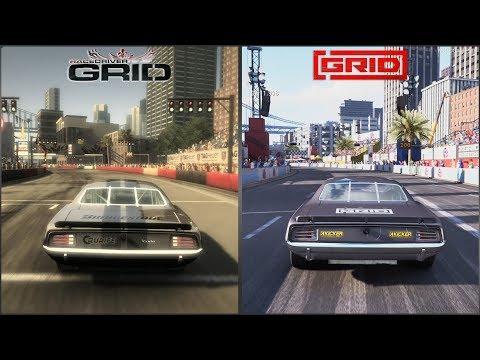 Race Driver: GRID vs GRID 2019 - San Francisco Grand Prix Circuit Comparison [4K 60FPS]