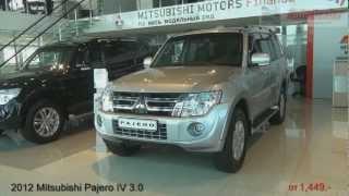 2012 Mitsubishi Pajero IV New Restyle in Khabarovsk - Mitsubishi Automir - Auto Dealer Media