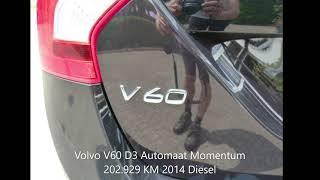 Volvo V60 2.0 D3 automaat Momentum