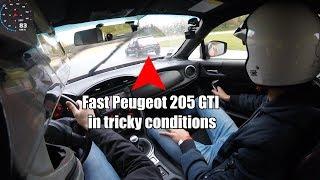 [Track Battle] GT86 Vs Peugeot 205 GTI 1.6 Vs Peugeot 306 2.0 16v - (Rain Conditions)