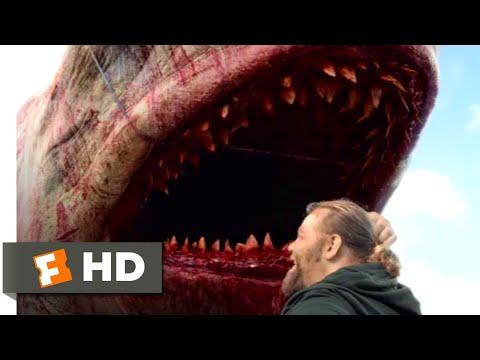 The Meg (2018) - We Killed the Meg! Scene (6/10) | Movieclips (видео)