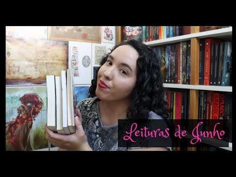 Vlog de Leituras de Junho (2021) | Raíssa Baldoni