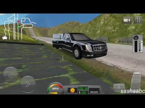 off road hill Limo driving 3D обзор игры андроид game rewiew android