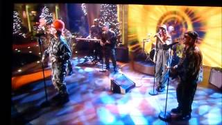 Boy George on the Paul O Grady Show performing Bigger than War