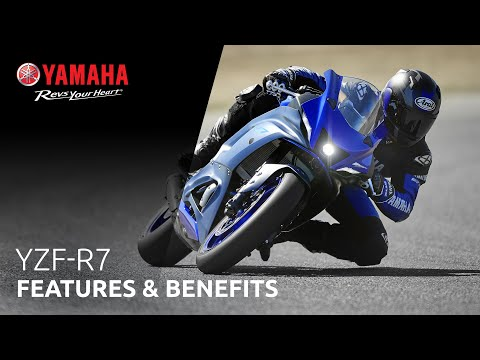 2022 Yamaha YZF-R7 World GP 60th Anniversary Edition in Johnson Creek, Wisconsin - Video 3