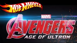 Hot Wheels Avengers: Age of Ultron