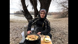Зимняя рыбалка на-кубани