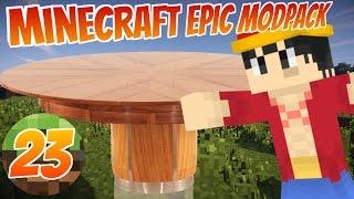 TABLE CRASHERS!!   Minecraft Epic Modpack   Part 23   MabiVsGames