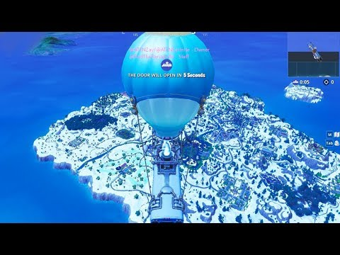 New Snow Map Change Season 7 Fortnite Christmas Map Changes