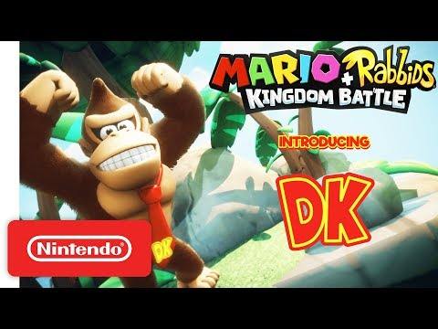Mario + Rabbids Kingdom Battle: Donkey Kong Reveal Trailer – Nintendo Switch