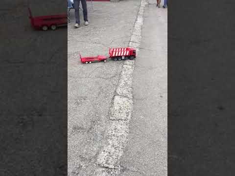 Lego rc Trakker 8x4 + trailer with 2 sbrick