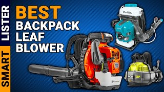 7 Best Backpack Leaf Blowers Reviews in (2020) - [Top Rated]