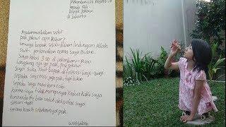 Viral Bocah Kelas 3 SD Tulis Surat Pilu Untuk Jokowi, Bukan Minta Sepeda, Tapi Kursi Roda