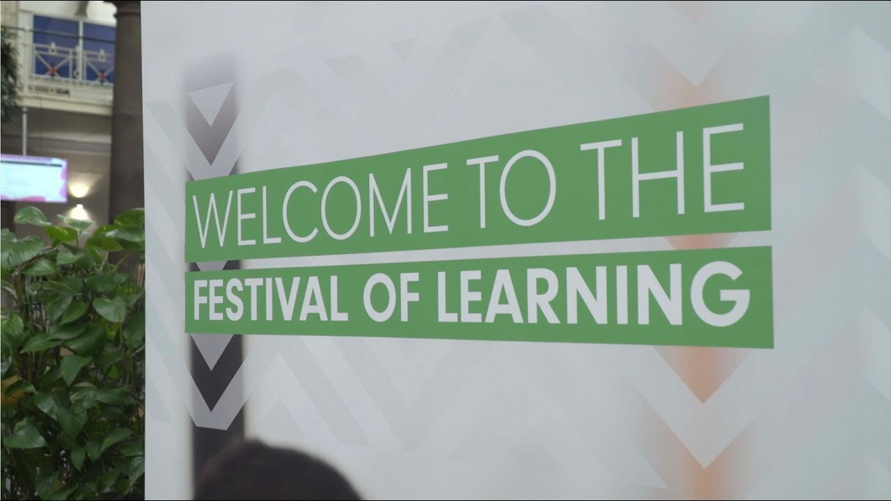 A highlights video of the Festival of Learning 2019
