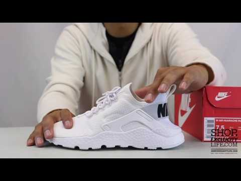 507f68d1313c7 Women s Nike Huarache Ultra White On feet Video at Exclucity ...