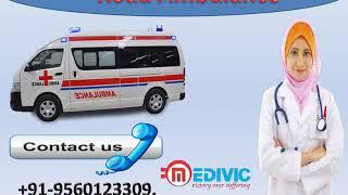 Top Class Road Ambulance Service in Bara Ghagra and Birsanagar