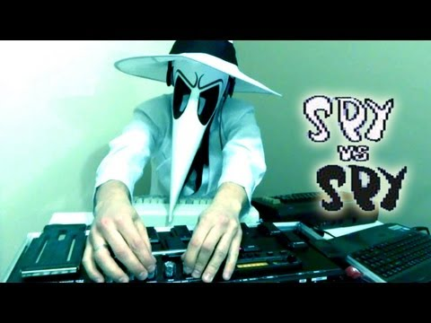 SPY vs, SPY (C64 - 1984) - LIVE REMIX [LukHash]