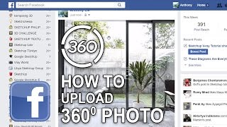 How to Upload 360 VR Photo Post on Facebook Tutorial Virtual Reality _ thexifer.net