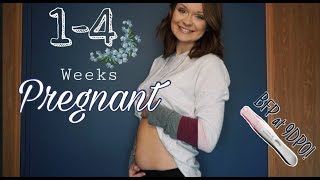 MY EARLIEST PREGNANCY SYMPTOMS BEFORE BFP AT 9DPO    WEEKS 1-4 UPDATE!