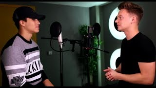 Conor Maynard vs  Alex Aiono - 24K Magic (Mashup/Sing off)(Lyrics/Lyric Video)
