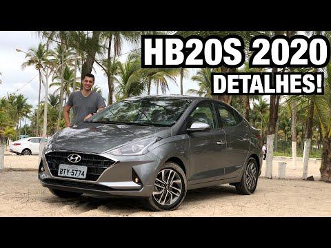 NOVO HB20S TURBO 2020 em DETALHES - Falando de Carro