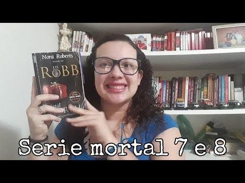 Resenha Série Mortal 7 e 8 Natal Motal e Conspiração Mortal/ Nora Roberts