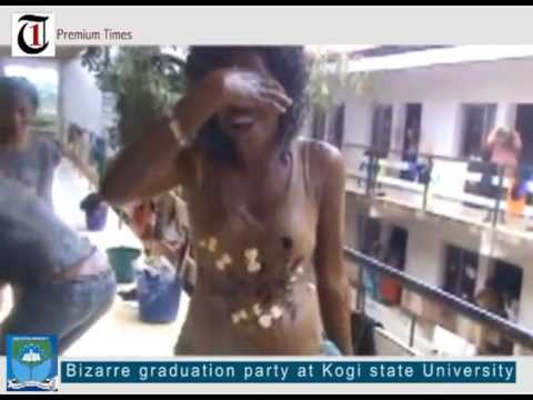 Bizarre graduation party at Kogi State University