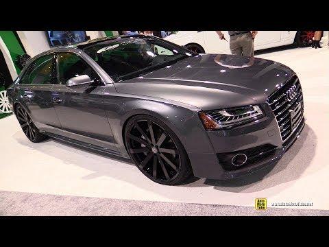 2017 Audi A8L with Velocity Wheels - Exterior Walkaround - 2017 SEMA Las Vegas